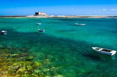 Castillo de San Gabriel, in Arrecife, Canary Islands royalty free stock photos