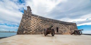 Castillo de SAN Gabriel Arrecife, Lanzarote, Κανάρια νησιά Στοκ Εικόνα