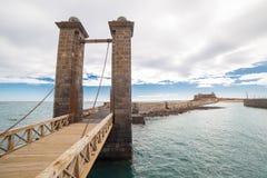 Castillo de SAN Gabriel Arrecife, Lanzarote, Κανάρια νησιά Στοκ Εικόνες