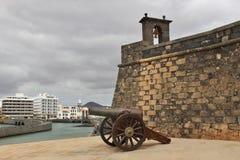 Castillo de San Gabriel in Arrecife, Lanzarote, Spain. Royalty Free Stock Images