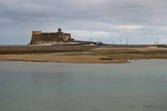 Castillo de San Gabriel em Arrecife, Lanzarote, Espanha fotografia de stock royalty free