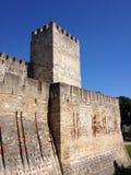 Castillo de san Jorge Fotografie Stock