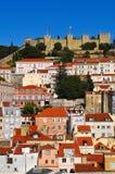 Castillo de San Jorge Fotos de archivo