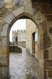 Castillo de San Jorge en Lisboa Imagen de archivo