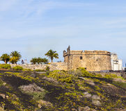 Castillo de San Jose in Arrecife, Lanzarote Royalty Free Stock Photos