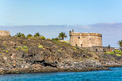 Castillo de San Jose, Castle of San Jose, Arrecife, Lanzarote, Spain Royalty Free Stock Photography