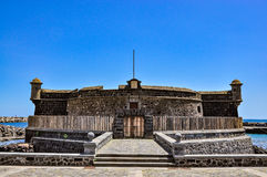 Castillo de San Juan Bautista - Castle of John Baptist, Santa Cruz de Tenerife Stock Photos