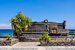 Castillo de San Juan Bautista on the island Tenerife Royalty Free Stock Photo