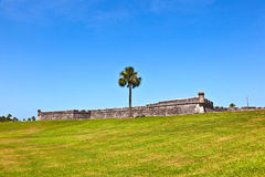 Castillo de San Marco - ancient fort in st. augustine florida stock photography