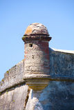 Castillo de San Marco - ancient fort in st. augustine florida stock image