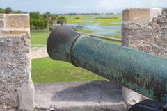 Castillo de San Marcos 库存图片