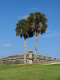 Castillo de San Marcos. In St. Augustine, Florida Stock Photography