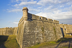 Castillo de San Marcos. In St. Augustine, Florida stock photo