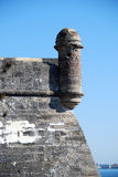 Castillo de San Marcos. Fort at St. Augustine Florida stock image