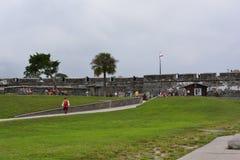 Castillo de San Marcos Royalty Free Stock Photo