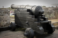 Castillo de San Marcos Cannon Photographie stock libre de droits