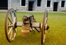 Castillo de San Marcos Court Royalty Free Stock Photography