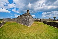 Castillo de San Marcos em St Augustine, Florida, EUA Fotos de Stock Royalty Free