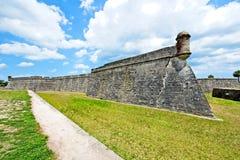 Castillo de San Marcos em St Augustine, Florida, EUA Fotos de Stock