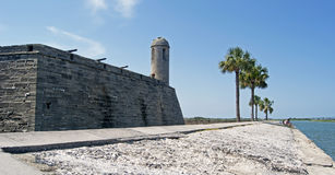 Castillo de San Marcos Fort Stock Image