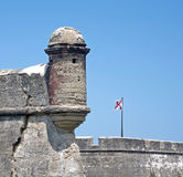 Castillo de San Marcos Fort Royalty Free Stock Images