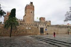 Castillo de San Marcos i El Puerto de Sta Maria, Spanien royaltyfri fotografi