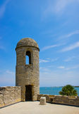 Castillo de San Marcos National Monument. In St. Augustine, Florida royalty free stock photography