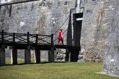 Castillo de San Marcos. National monument Castillo de San Marcos in st Augustine stock image