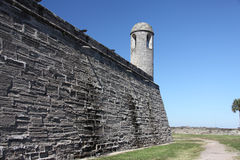 Castillo de San Marcos Royalty Free Stock Photos