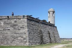 Castillo de San Marcos. National monument Castillo de San Marcos in st Augustine royalty free stock photos