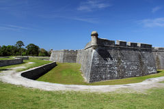 Castillo De San Marcos. National Monument, St Augustine, Florida royalty free stock image
