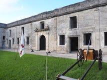 Castillo De San Marcos St Augstine Florda Fotografia Royalty Free