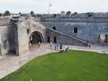 Castillo de San Marcos St. Augstine Florda Stock Image