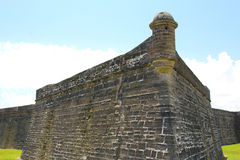 Castillo de San Marcos in St. Augustine, Florida. Royalty Free Stock Photos