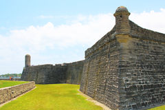 Castillo de San Marcos in St. Augustine, Florida. Stock Photos