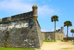 Castillo de San Marcos in St. Augustine, Florida. Stock Photos