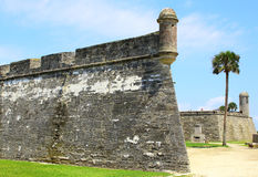 Castillo de San Marcos in St. Augustine, Florida. Stock Photography