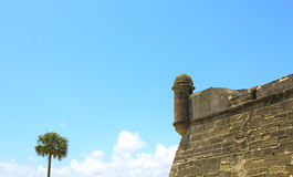 Castillo de San Marcos in St. Augustine, Florida. Royalty Free Stock Photography