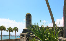 Castillo de San Marcos in St. Augustine, Florida. Stock Images