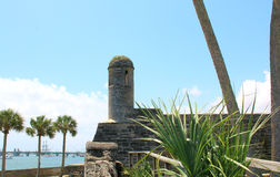 Castillo de San Marcos in St. Augustine, Florida. stock images