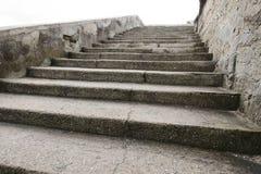 Castillo de San Marcos Stairway Fotografie Stock Libere da Diritti