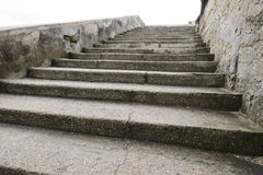 Castillo de San Marcos Stairway Royalty Free Stock Photos