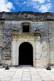 Castillo De San Marcos Wewnętrzna ściana, St Augustine Obraz Royalty Free