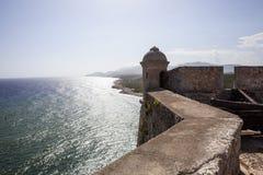 Castillo de San Pedro de la Roca del Morro in Santiago de Cuba - Cuba Royalty Free Stock Images