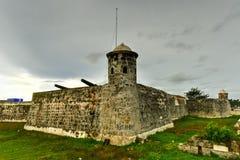 Castillo de San Salvador de la Punta Lizenzfreie Stockfotografie