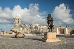 Castillo de San Salvador de la Punta, havannacigarr Royaltyfri Bild