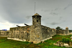 Castillo de San Salvador De Los angeles Punta Fotografia Royalty Free