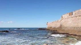 Castillo de San Sebastian vídeos de arquivo