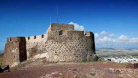 Castillo de Santa Barbara. Lanzarote stock photo