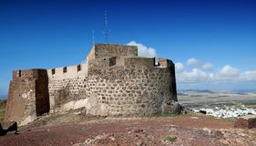 Castillo de Santa Barbara Stock Photo